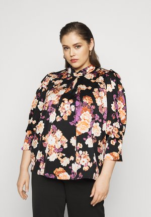 VMBELLA HIGH NECK - Blouse - black/bella