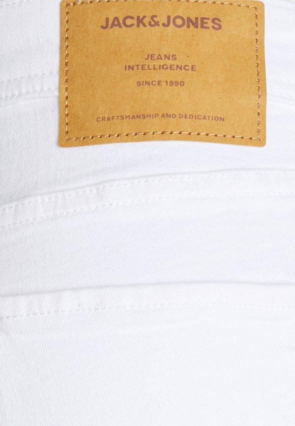 Jack & Jones JJIGLENN JJORIGINAL - Jeansy Slim Fit - white/biały Odzież Męska TYCO