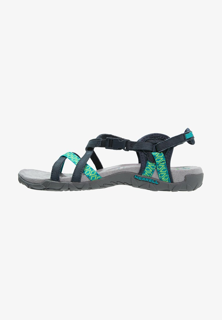 Merrell - TERRAN LATTICE II - Walking sandals - navy
