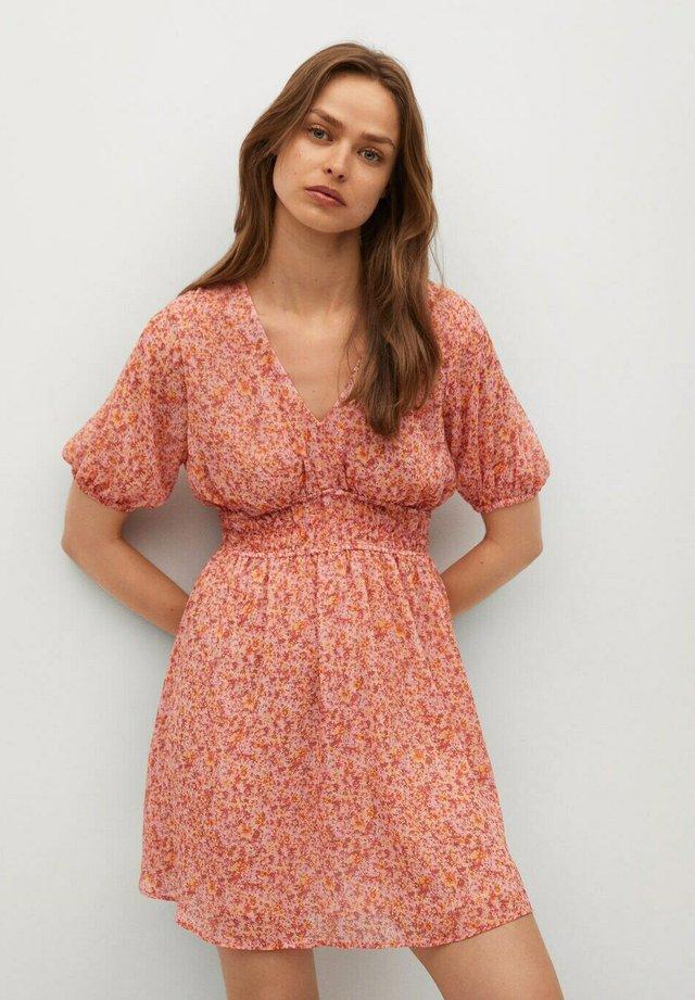Korte jurk - różowy