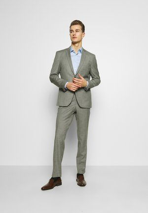 SHARKSKIN - Traje - light grey
