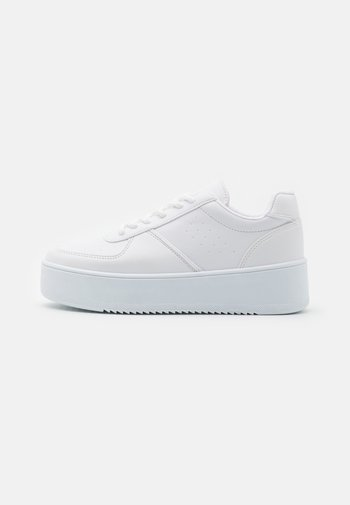 CLASSIC TRIM TRAINER - Sneakers laag - white