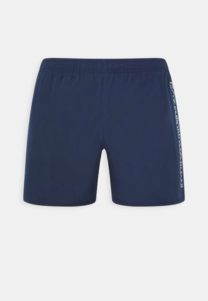 SEA WORLD LOGO BOXER - Swimming shorts - navy/silver