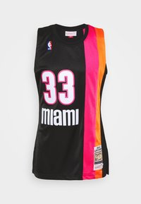Mitchell & Ness - NBA MIAMI HEAT ALONZO MOURNING AUTHENTIC - Article de supporter - black - 3