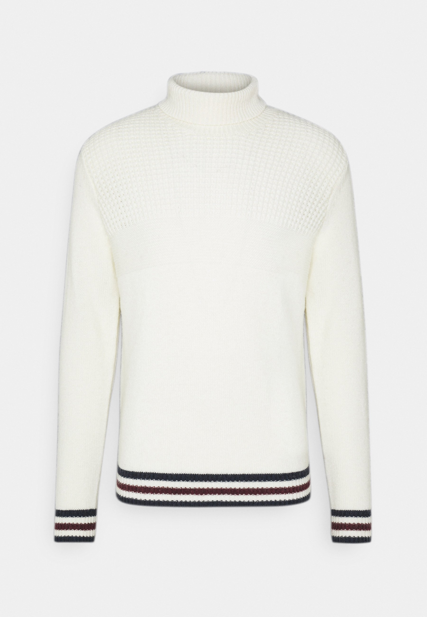 Homme TEXTURED ROLL NECK - Pullover