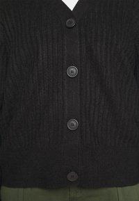 New Look Curves - CARDIGAN - Cardigan - black - 6