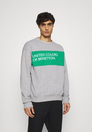 CREW NECK BIG LOGO - Sweatshirt - light grey