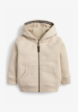 ESSENTIAL - Zip-up hoodie - stone