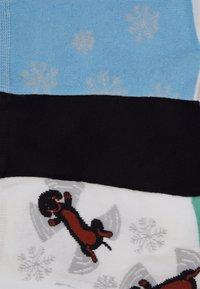 Wild Feet - WILDFEET DACHSHUND SOCKS 3 PACK - Ponožky - multi-coloured - 1