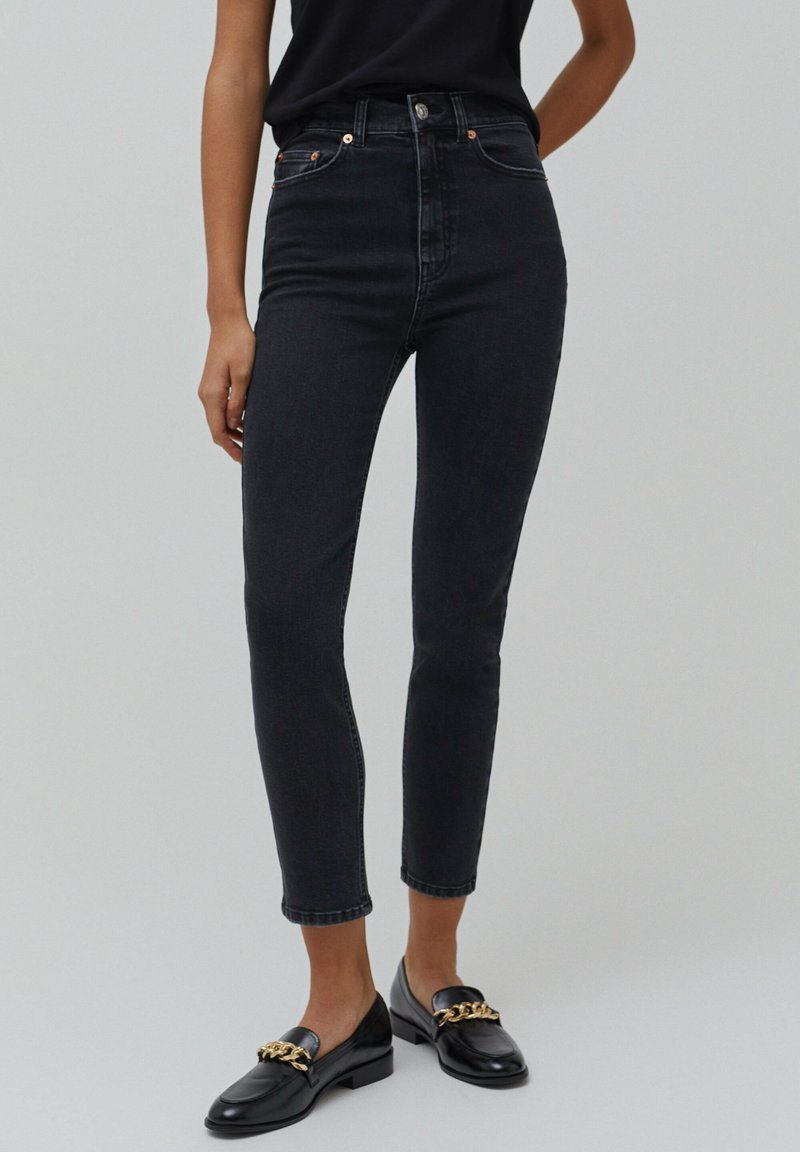 PULL&BEAR - Jeans baggy - black