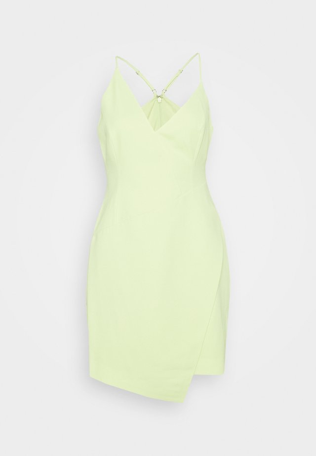 EVE SHORT DRESS - Vestito elegante - light green