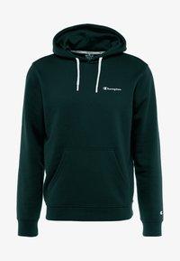 Champion - HOODED - Huppari - dark green/navy - 5