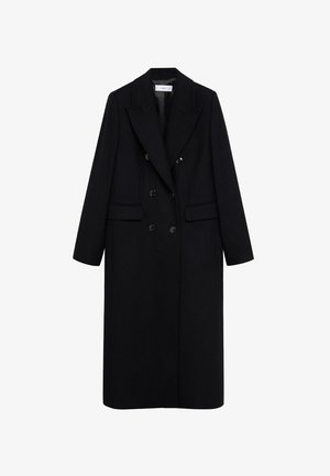 Płaszcz wełniany /Płaszcz klasyczny - zwart