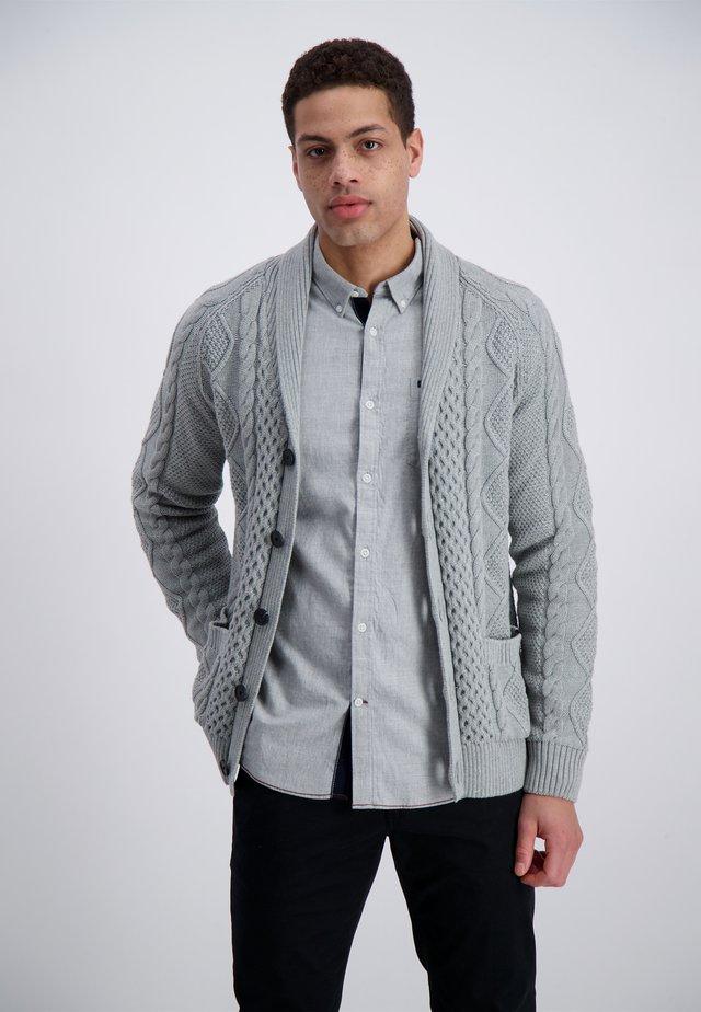 Cardigan - grey mel