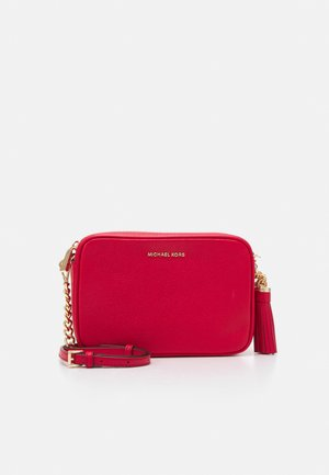 JET SET CAMERA BAG - Torba na ramię - bright red