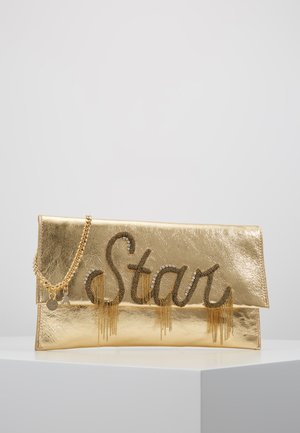 POCHETTE PIPING - Clutch - gold star