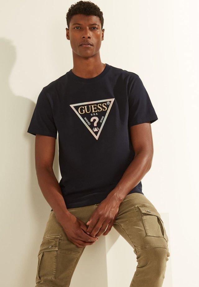 Camiseta estampada - zwart