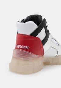 Love Moschino - TREKK - Bottines à plateau - white - 6