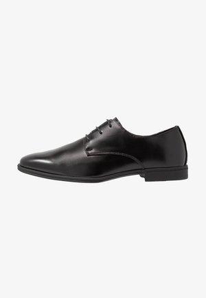 DANNY PLAN FORMAL - Elegantní šněrovací boty - black