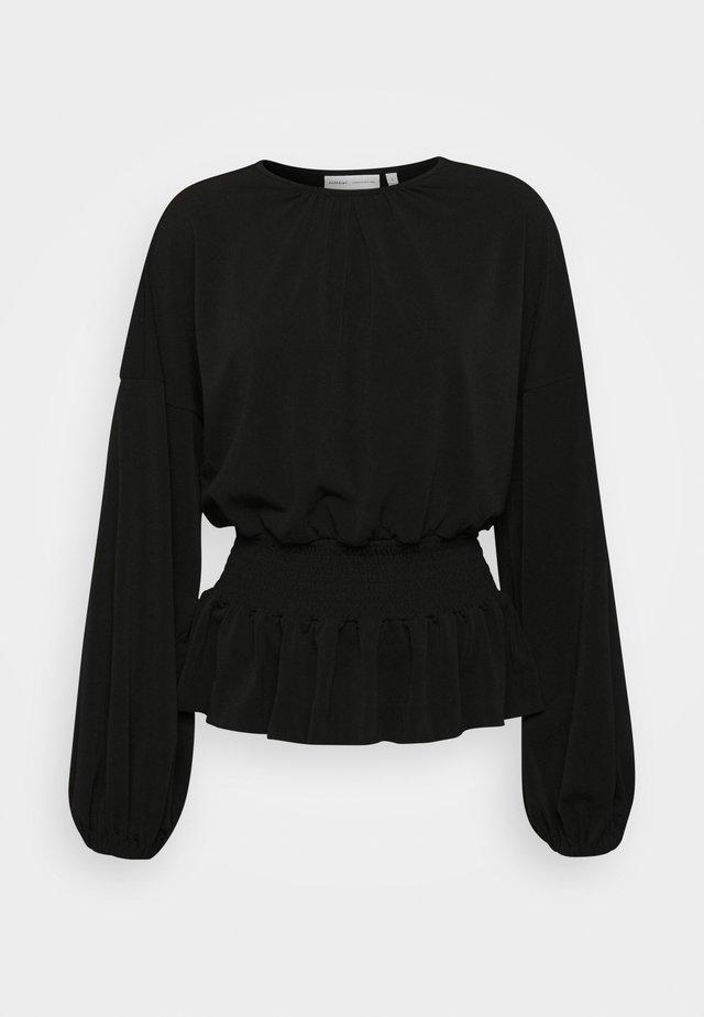 CHRISTEL - Long sleeved top - black
