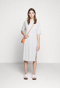 Filippa K - MIRA DRESS - Žerzejové šaty - faded aqua - 1