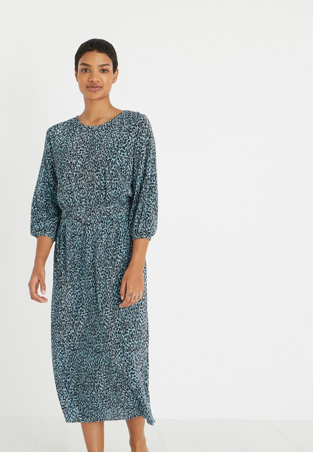 FLORAL PRINT  - Vapaa-ajan mekko - blue