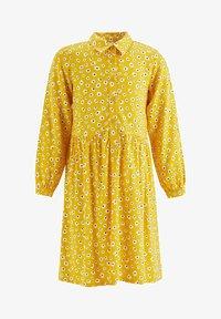 DeFacto - Shirt dress - yellow - 0