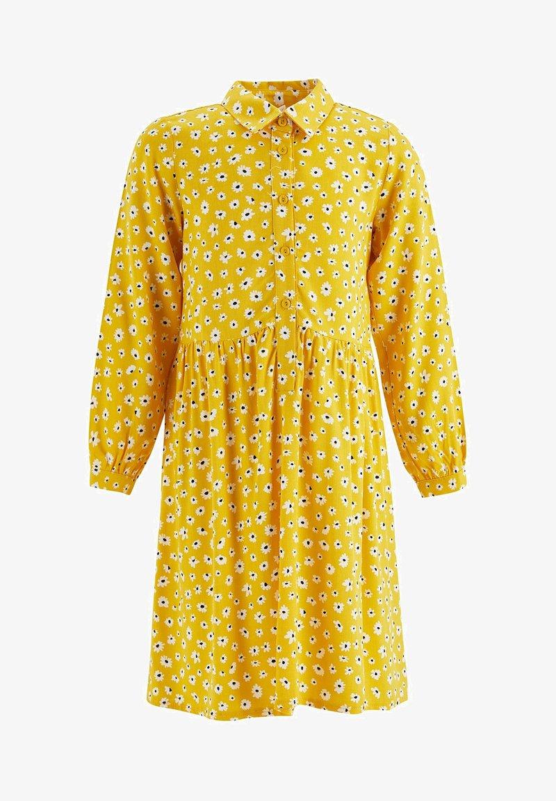 DeFacto - Shirt dress - yellow