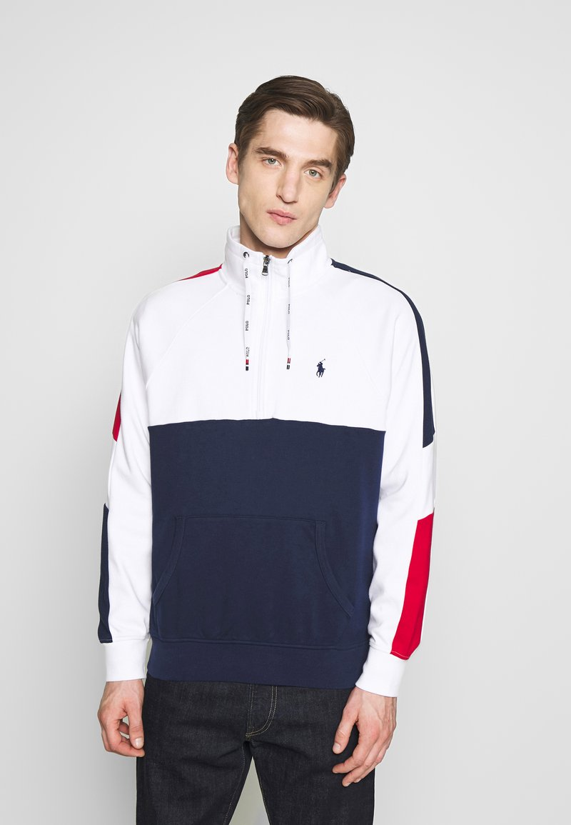 Polo Ralph Lauren - HEAVY SOFT TOUCH - Sweatshirt - white