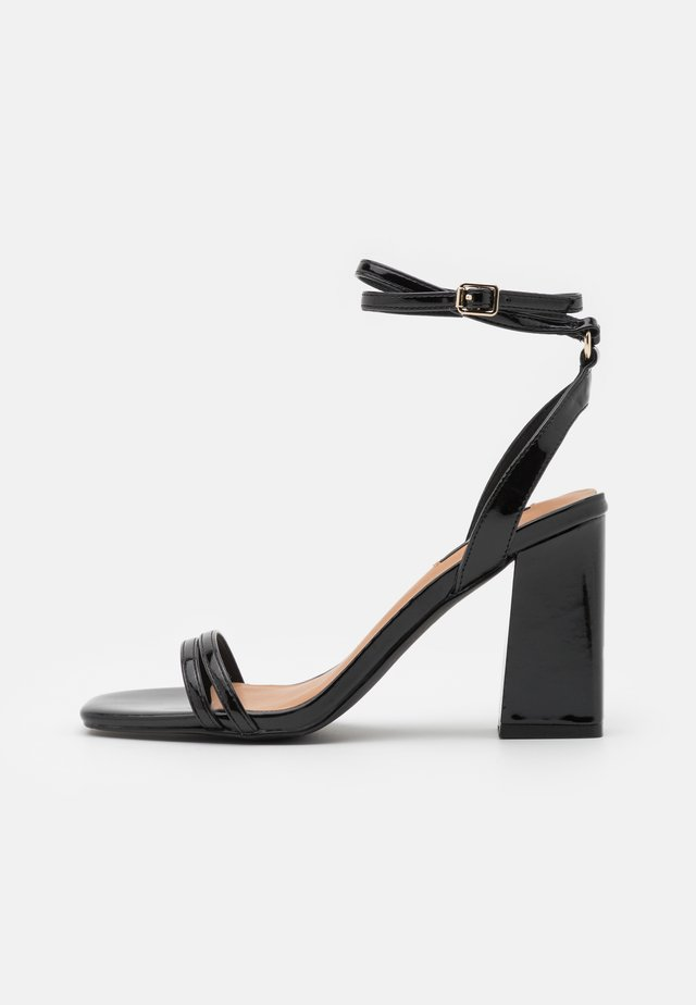 ONLALYX RING  - Sandalen - black