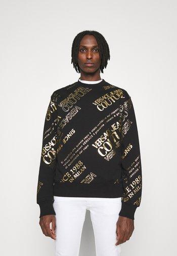 BRUSHED - Sweatshirt - nero