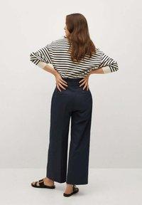 Mango - Pantalon classique - azul marino oscuro - 2