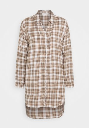CHEKIA SHIRT - Hemdbluse - brown