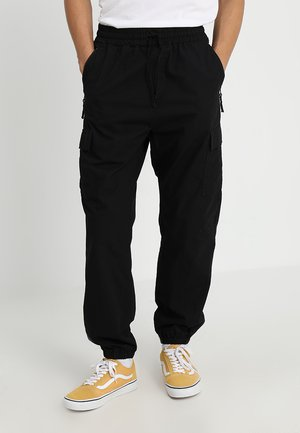 COLUMBIA - Pantalon cargo - black rinsed