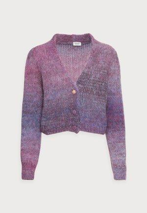 MAGLIA APERTA - Cardigan - violet shaded