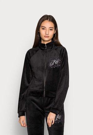 TANYA SCATTER TRACK  - Zip-up sweatshirt - black