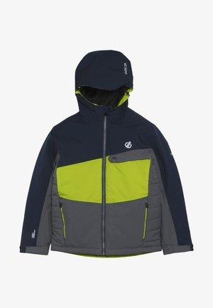 WREST JACKET - Ski jacket - ebony/algrey