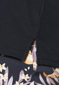 Lauren Ralph Lauren Woman - JUDY ELBOW SLEEVE - Basic T-shirt - navy - 4