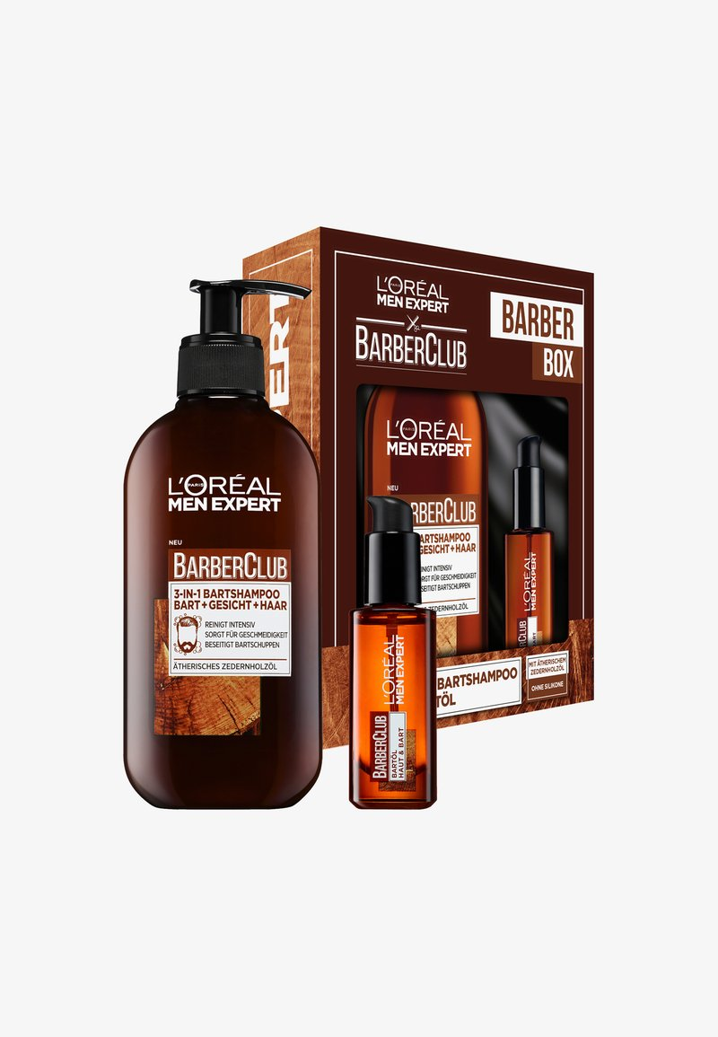 L'Oréal Men Expert - BARBER CLUB STANDARD COFFRET 2 PIECES - Skincare set - -