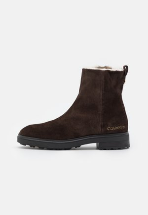 CLEAT BOOT - Classic ankle boots - dark brown