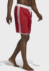 adidas Performance - 3-STRIPES CLASSICS CL SWIM SPORTS MUST HAVES PRIMEGREEN SHORTS - Swimming shorts - red - 2