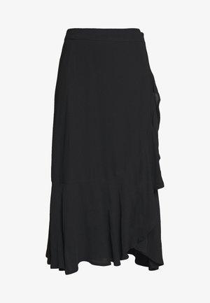 FRANCINE - Jupe trapèze - black
