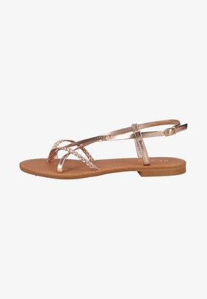 T-bar sandals - pink