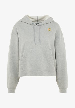 HERITAGE HOODIE - Kapuzenpullover - dark grey heather