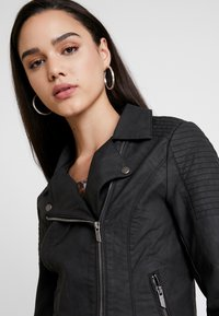 ONLY - ONLMEGAN BIKER - Faux leather jacket - black - 3