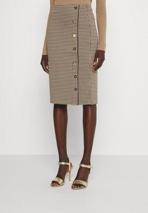 VEBDUSS SKIRT - Pencil skirt - classic camel