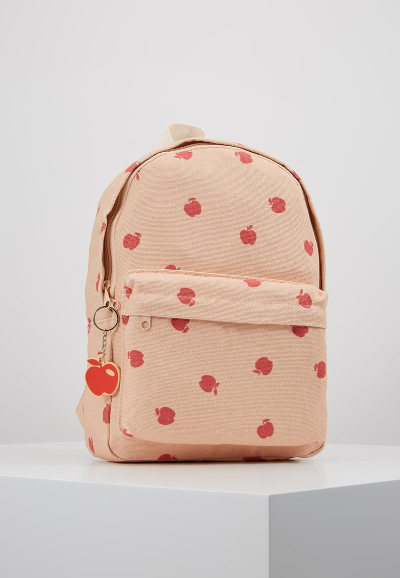 TINYCOTTONS - APPLES BACKPACK - Batoh - nude/burgundy