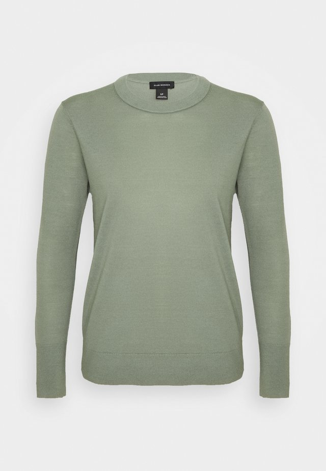 ESSENTIAL CREWNECK - Neule - willow