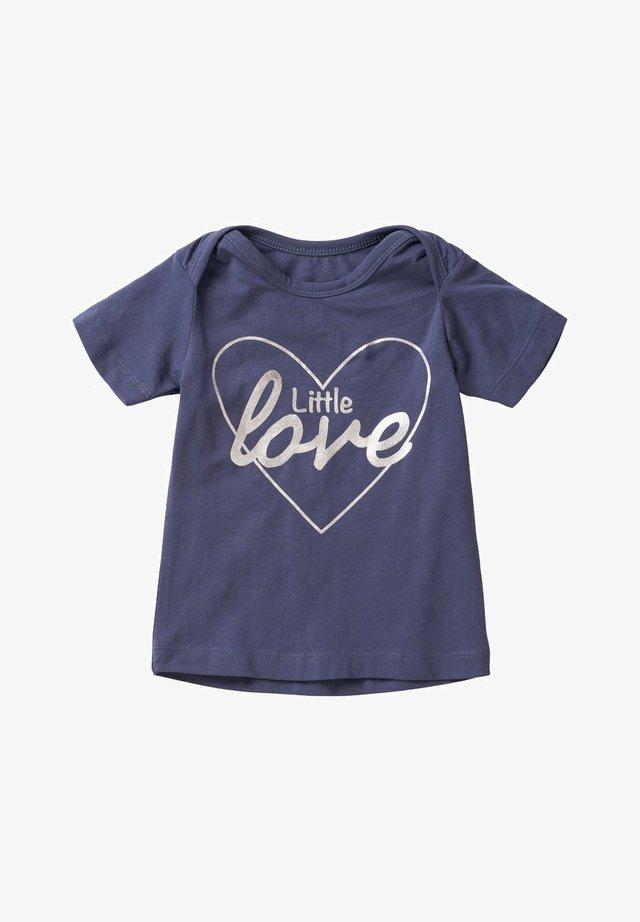 LITTLE LOVE - Print T-shirt - blue indigo