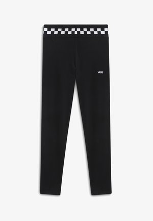 WM CHECKMATE LEGGING - Leggings - Trousers - black